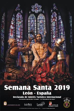 Cartel Semana Santa León 2019
